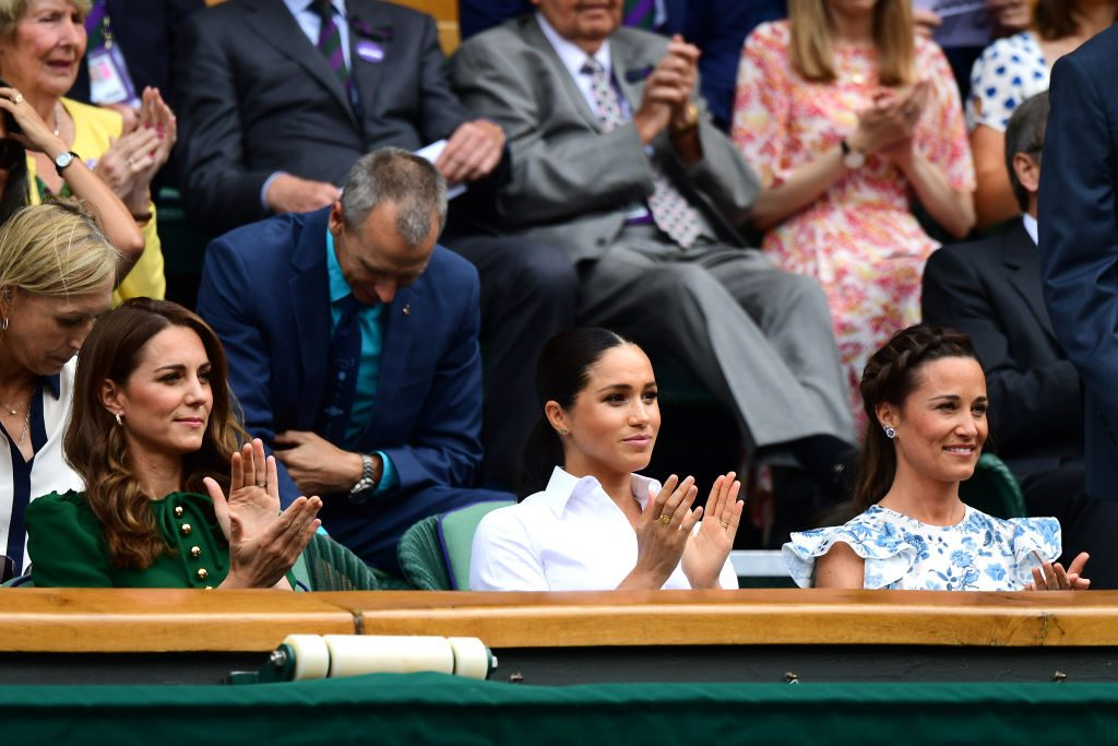 Kate Middleton, Meghan Markle, and Pippa Middleton