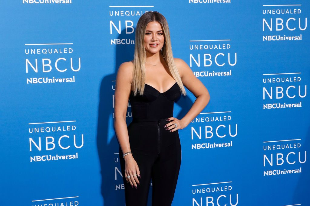Khloe Kardashian attends the 2017 NBCUniversal Upfront