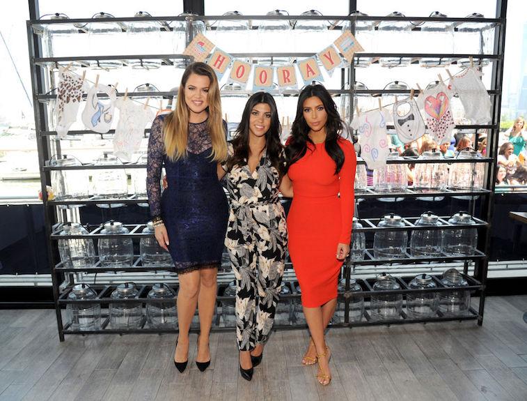 Kim, Kourtney, and Khloe Kardashian