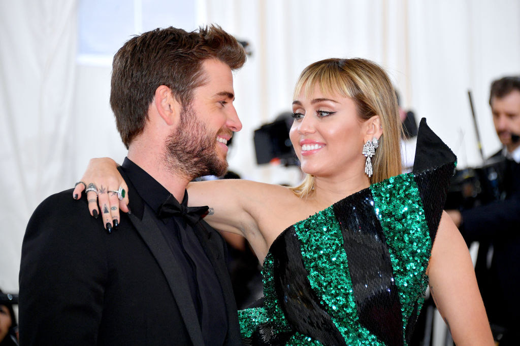 Image result for Miley Cyrus and Liam Hemsworth's Cutest Couple Moments
