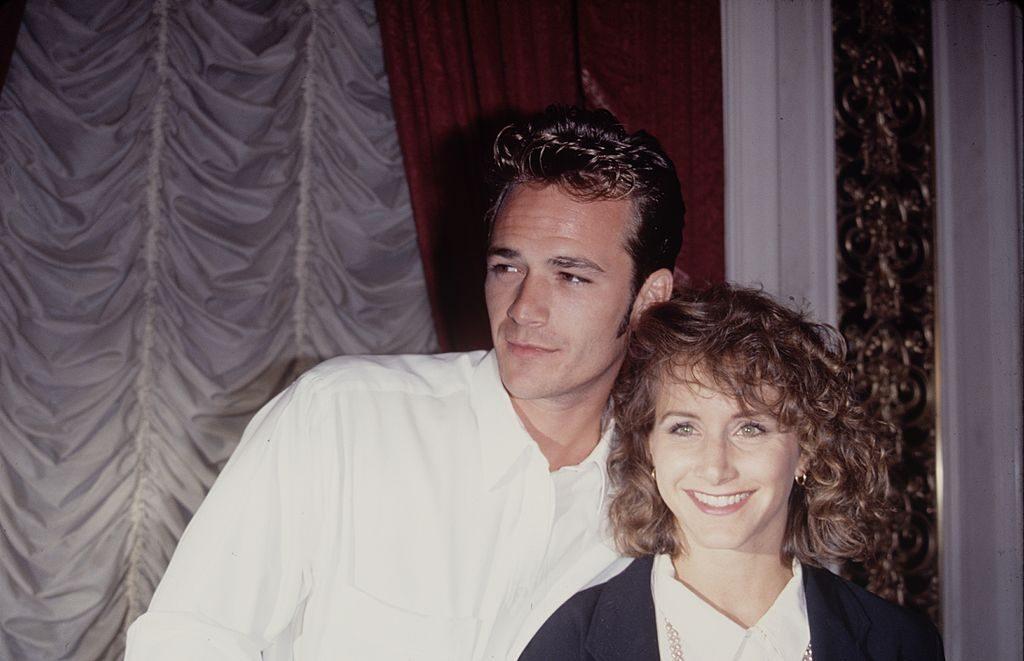 Luke Perry (left) and Gabrielle Carteris (right)  The LIFE Picture Collection via Getty Images/Getty Images