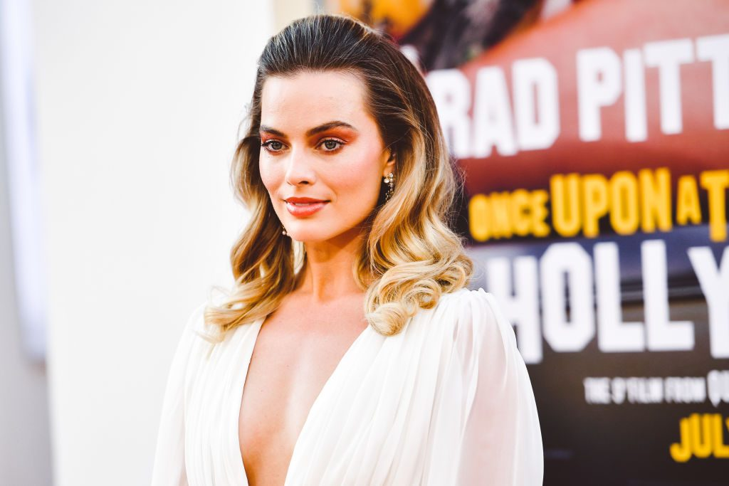 Margot Robbie at teh Once Upon A Time In Hollywood Premier