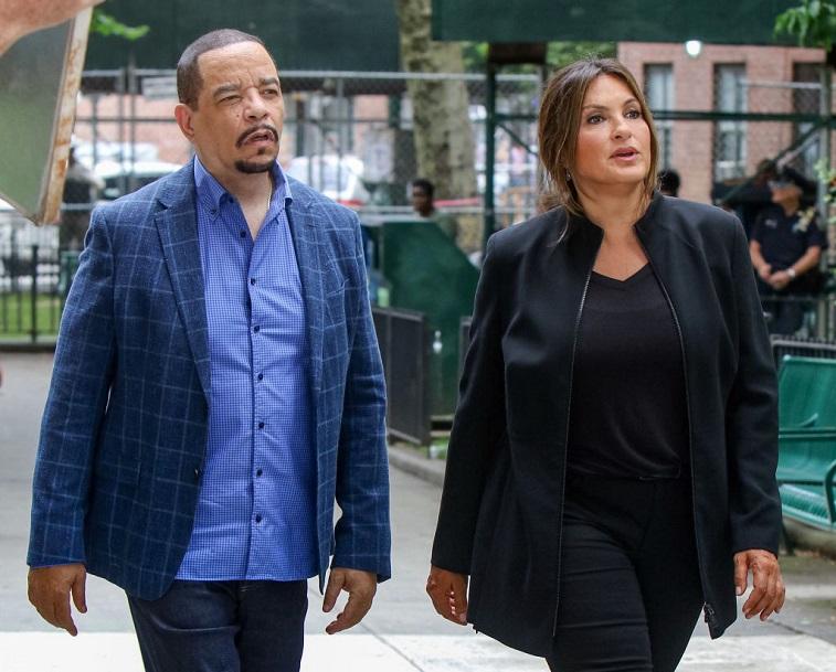 Mariska Hargitay and Ice-T