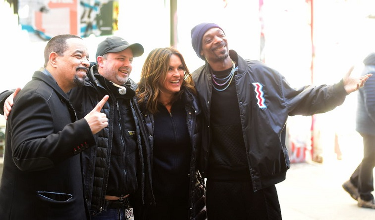Mariska and Snoop Dogg