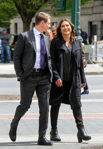 Mariska Hargitay and co-star