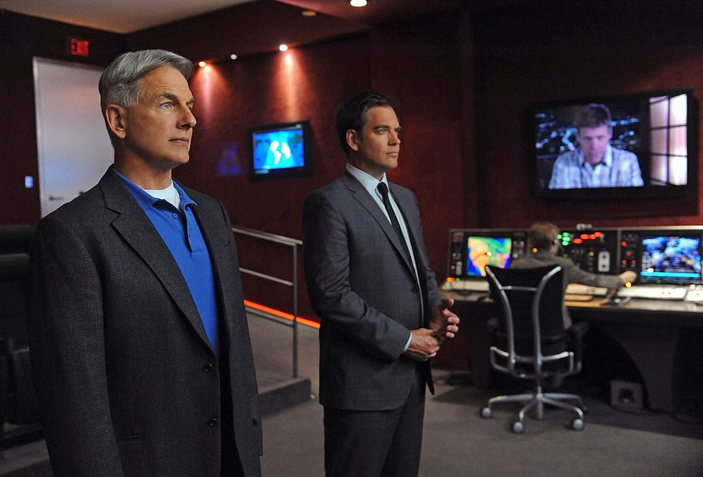Mark Harmon and Michael Weatherly | Ron P. Jaffe/CBS via Getty Images