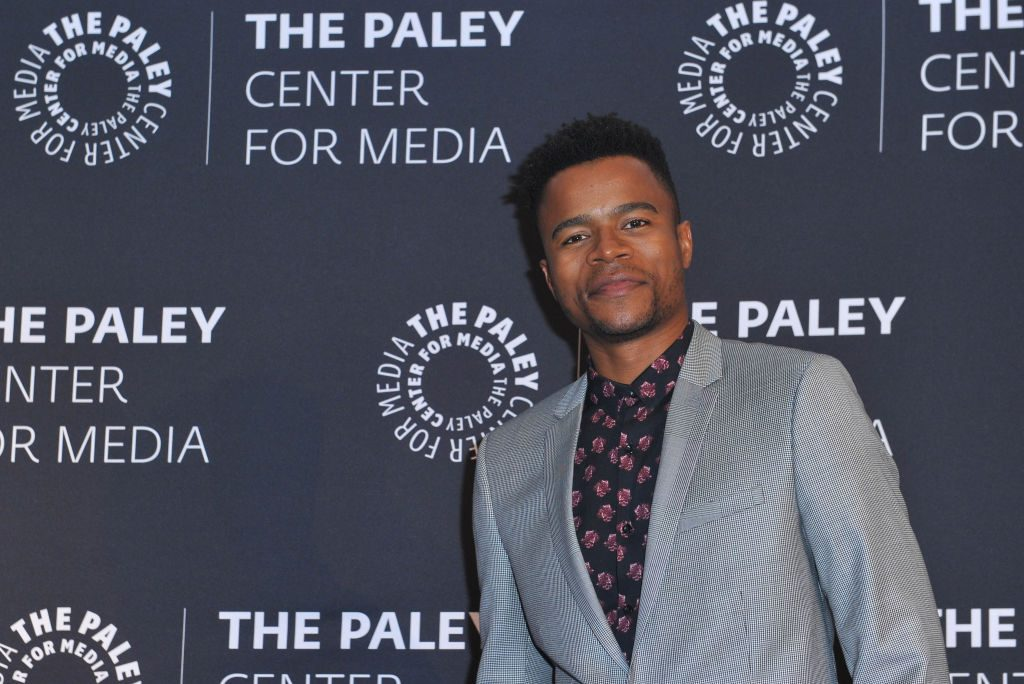 Marque Richardson at the Paley Center for Media's Dear White People event