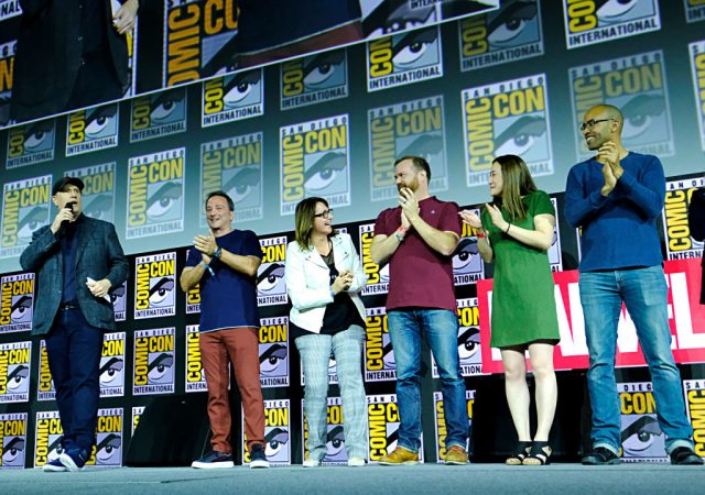 Kevin Feige and the Marvel Team