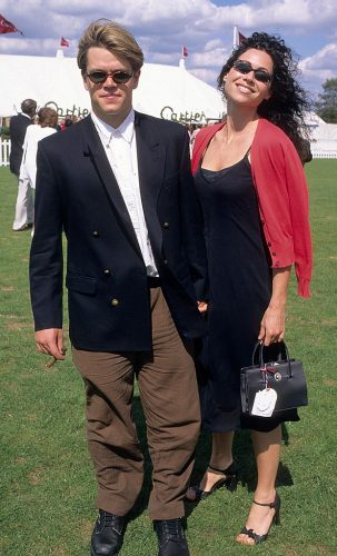 Matt Damon and Minnie Driver in 1997