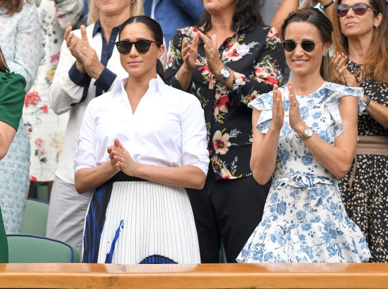Meghan Markle and Pippa Middleton