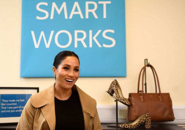 Meghan Markle at Smart Works.