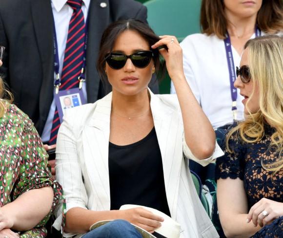 Meghan Markle at Wimbledon