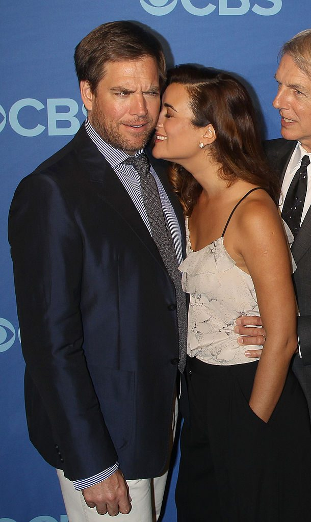 Michael Weatherly and Cote de Pablo at CBS event |  Jim Spellman/WireImage