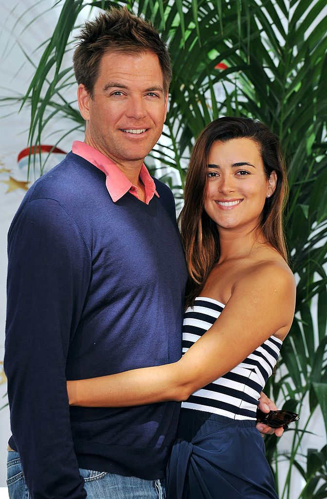 Michael Weatherly and Cote de Pablo of 'NCIS'