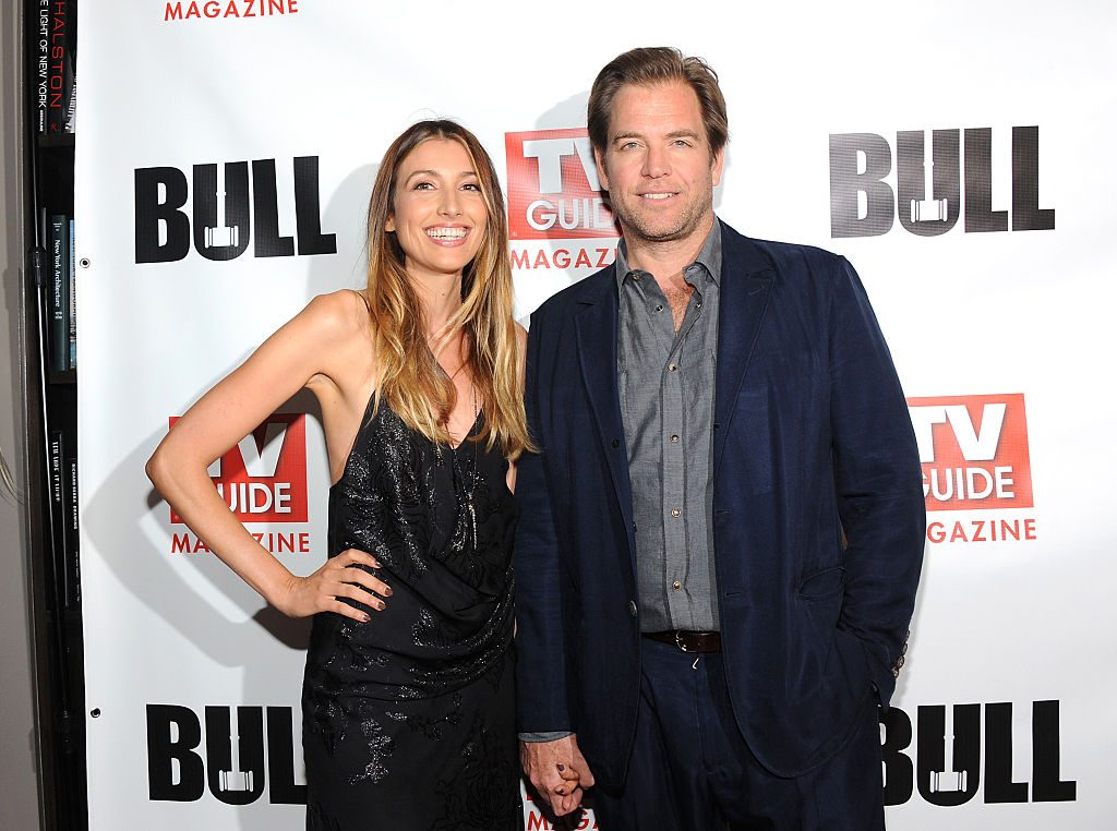 Michael Weatherly and his wife | Desiree Navarro/WireImage