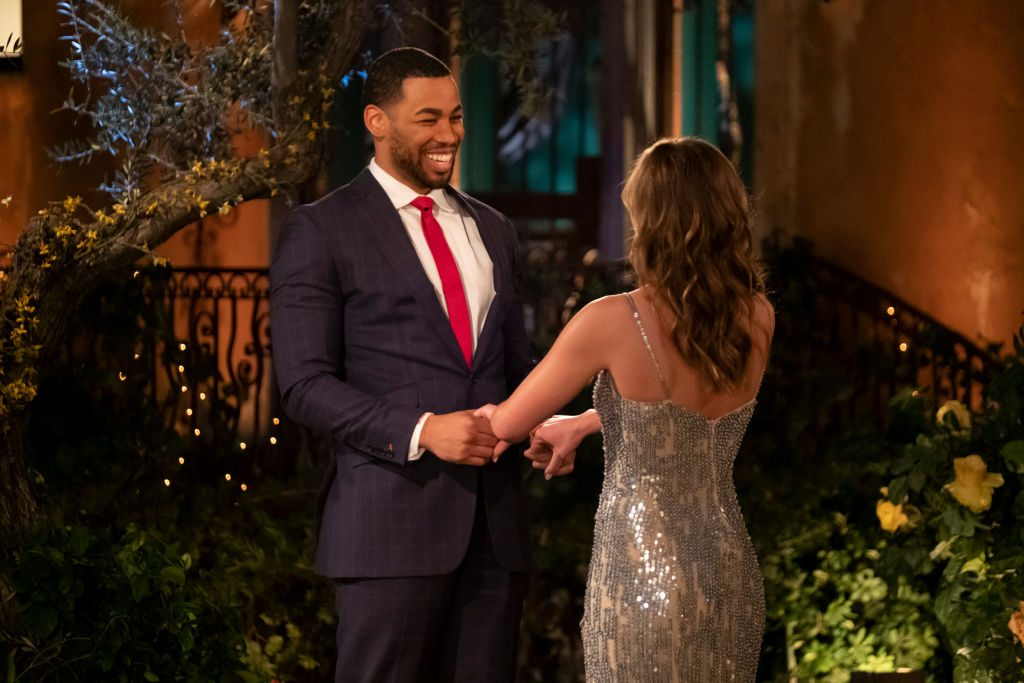 Mike Johnson (candidate for The Bachelor) and Hannah Brown