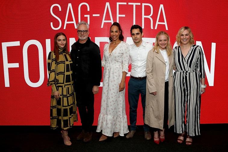 Elisabeth Moss and co-stars