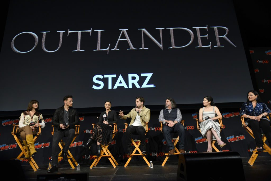 Outlander cast | Andrew Toth/Getty Images for New York Comic Con