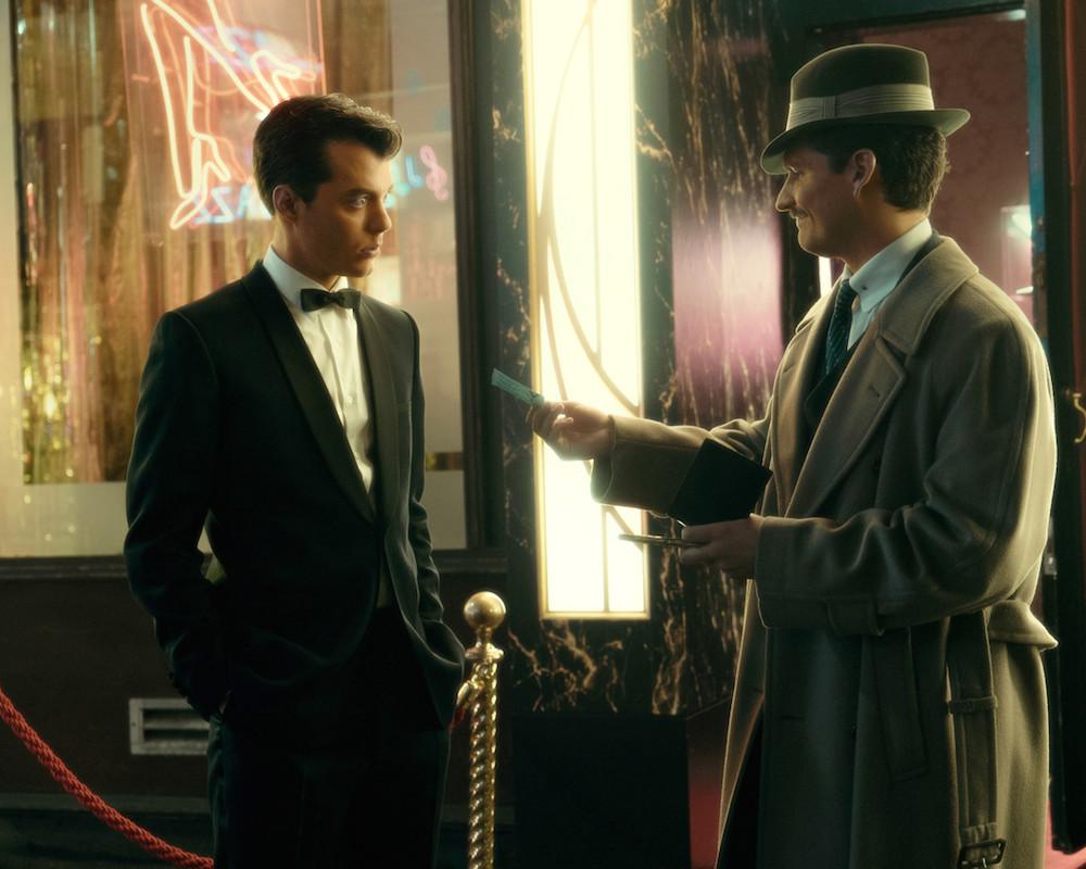 Jack Bannon and Ben Aldridge in Pennyworth