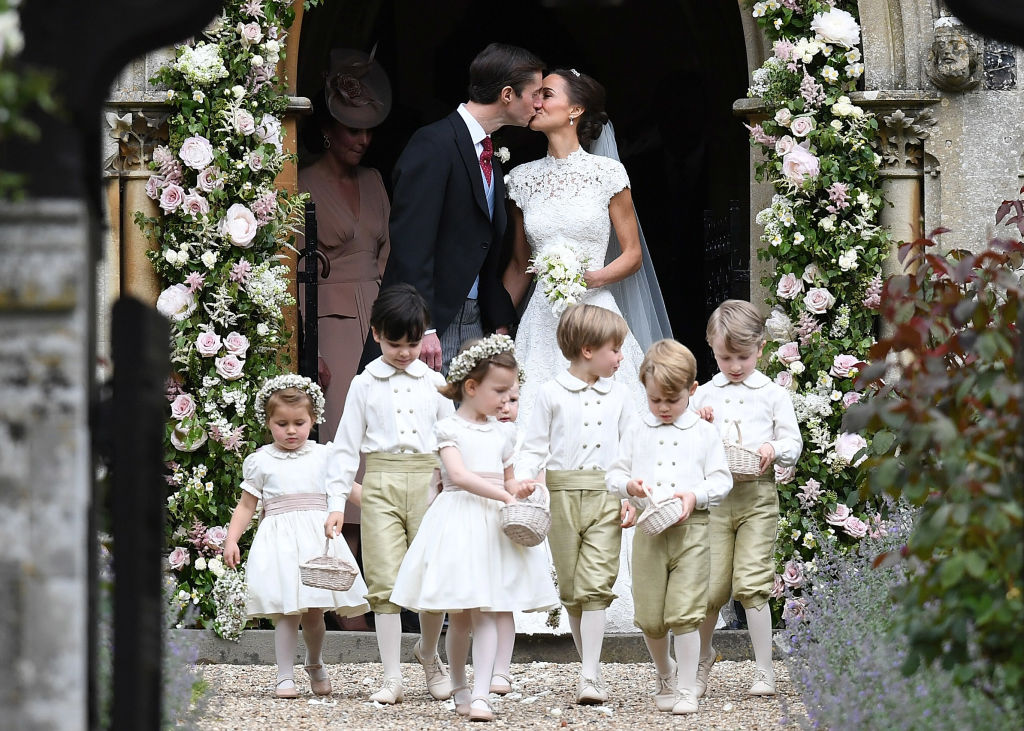 Wedding with Pippa Middleton