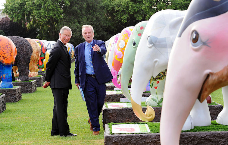 Prince Charles and Mark Shand