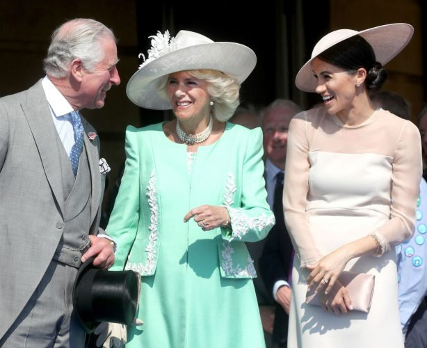 Prince Charles, Camilla Parker-Bowles, and Meghan Markle