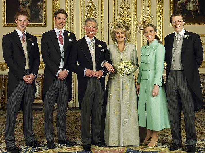 Prince Charles and Camilla Parker Bowles wedding