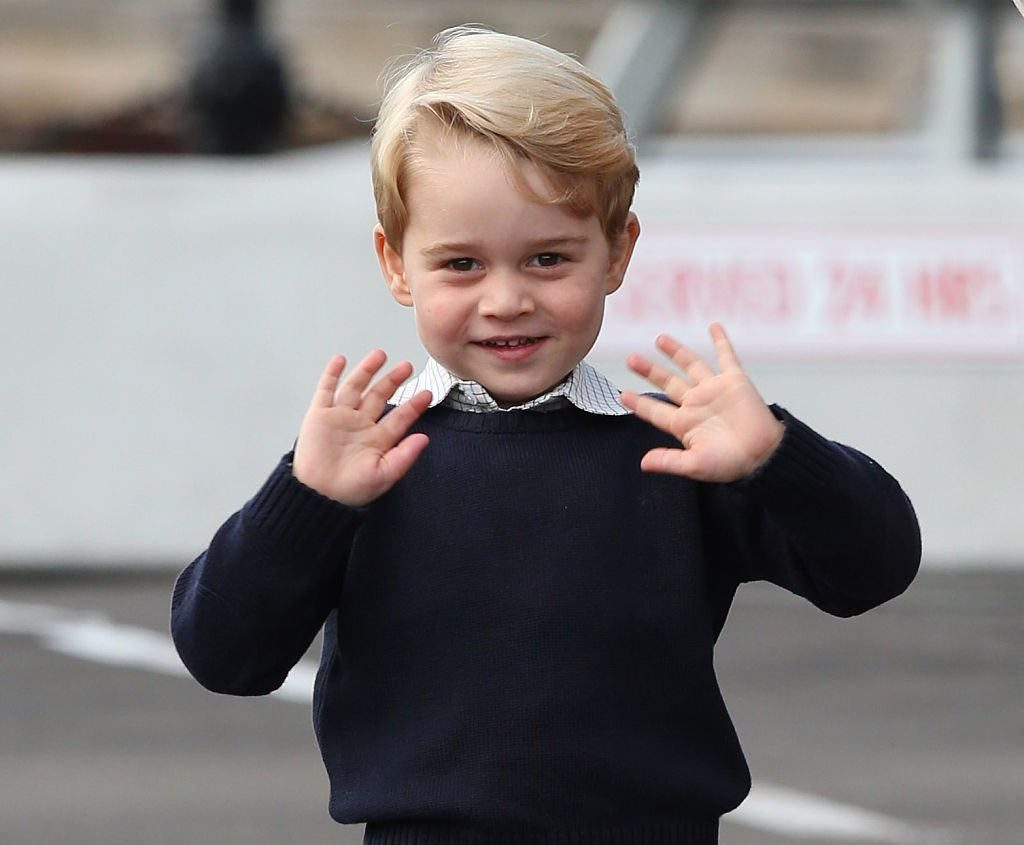 Kensington Palace Released Prince George's Sixth Birthday Portraits