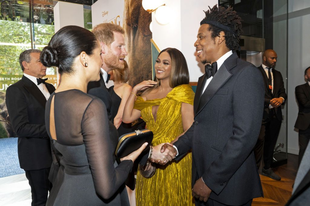 Prince Harry Meghan Markle tell Beyonce Jay-Z about baby Archie milestone