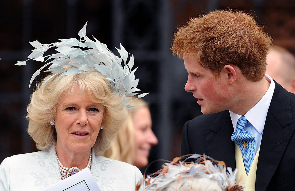 Prince Harry and Camilla