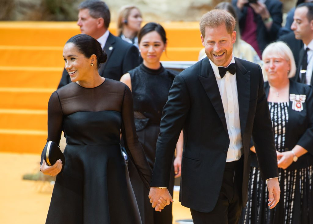 Prince Harry and Meghan Markle break protocol headstrong