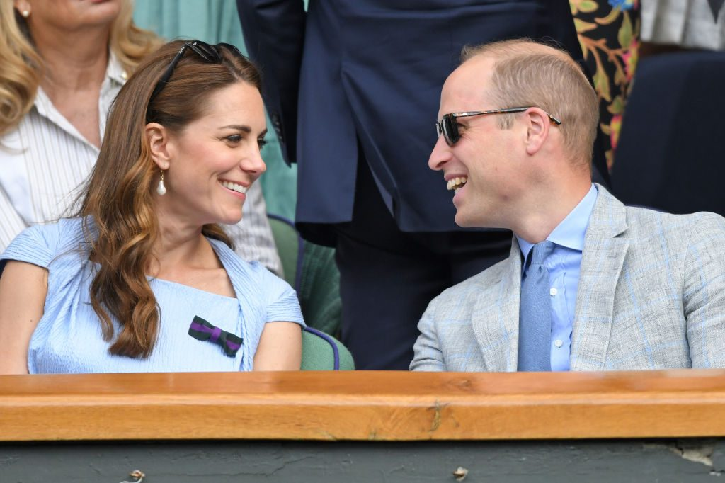 Prince William and Kate Middleton at Wimbledon 2019 body language after Rose Hanbury cheating rumor