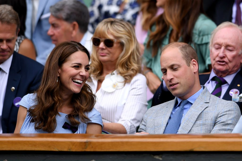 Prince William and Kate Middleton at Wimbledon 2019