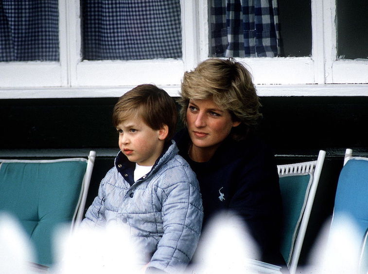 Prince William Princess Diana