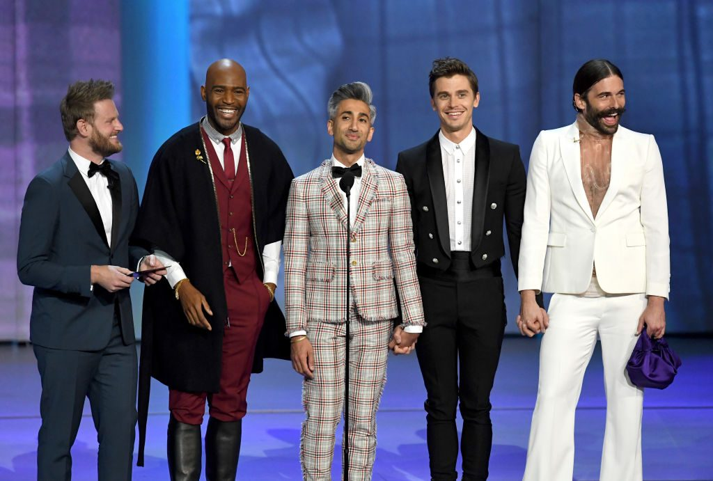 Bobby Berk, Karamo Brown, Tan France, Antoni Porowski, and Jonathan Van Ness