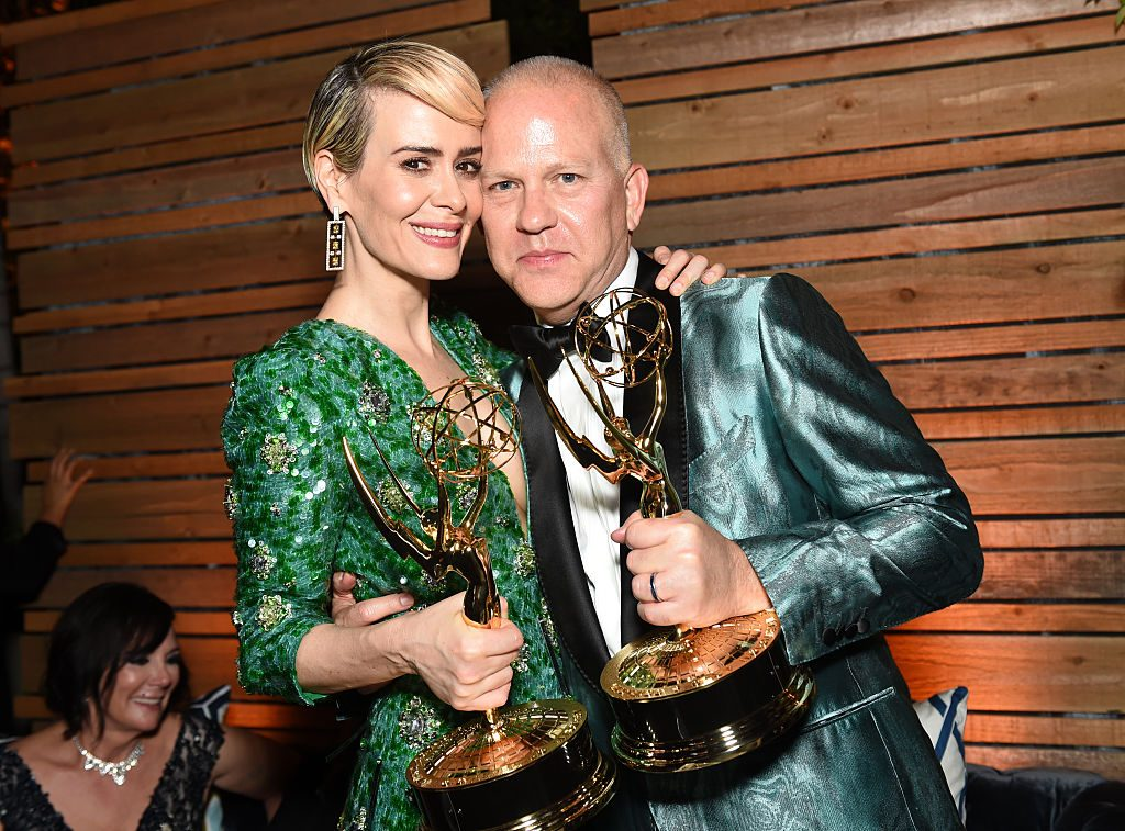 Sarah Paulson and Michael Weatherly 'American Horror Story'