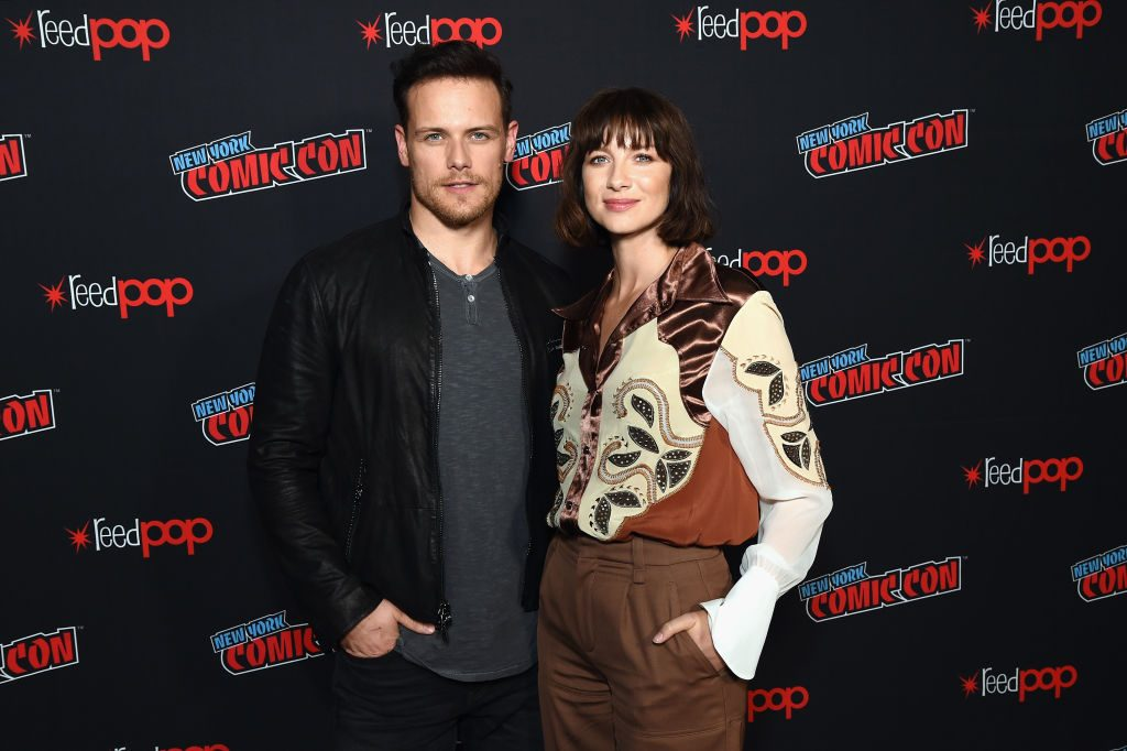Sam Heughan and Caitriona Balfe | Michael Kovac/Getty Images for Starz Entertainment LLC