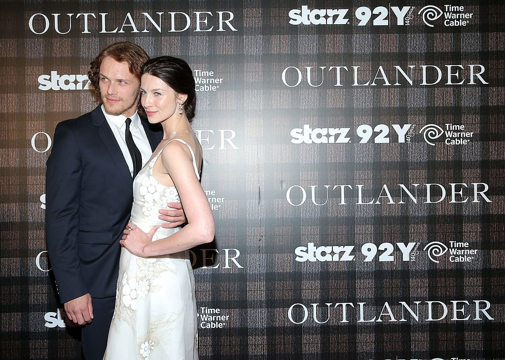 Sam Heughan and Caitriona Balfe   Jemal Countess/Getty Images
