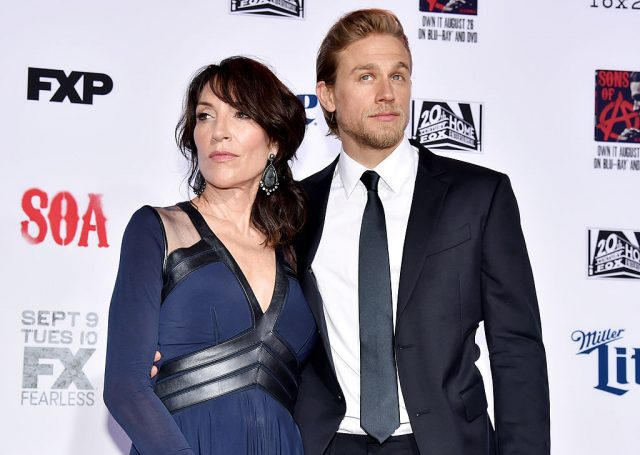 'Sons of Anarchy' stars Katey Sagal and Charlie Hunnam