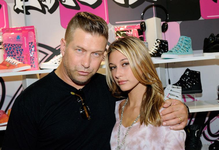 Stephen Baldwin and Hailey Baldwin