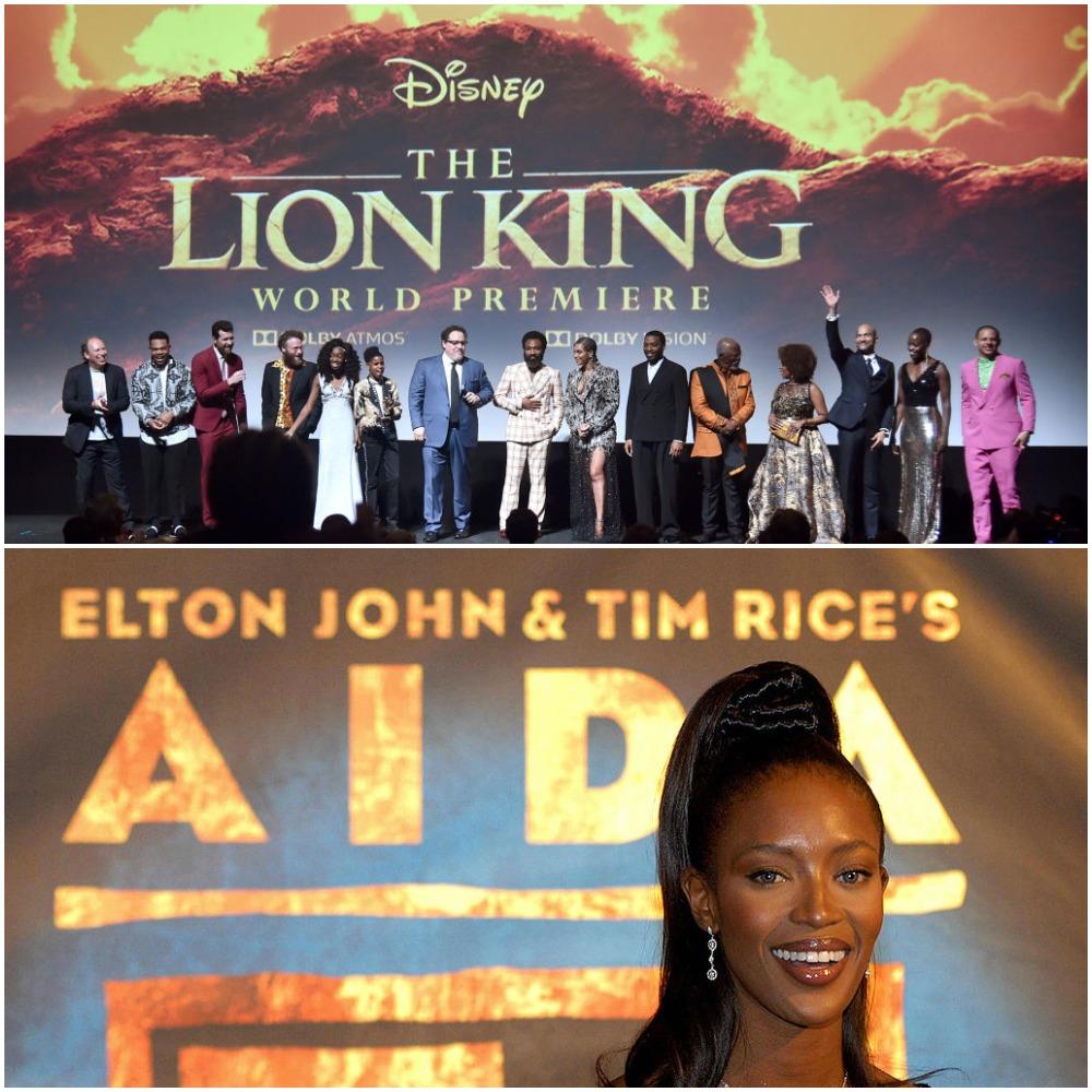 The Lion King vs Aida