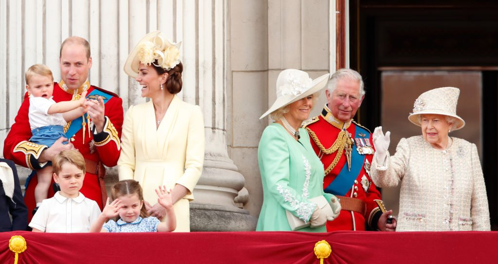 The royal family at Trooping The Colour 2019