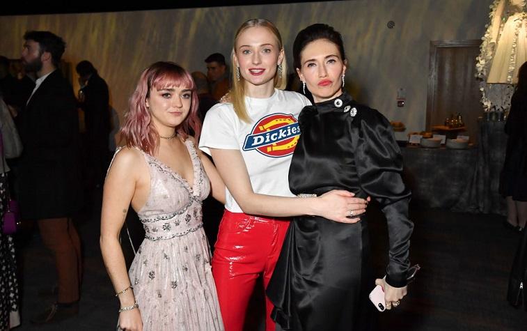 Maisie Williams, Sophie Turner, and Carice Van Houten