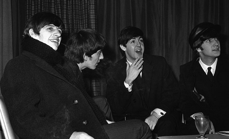 beatles in the mid-'60s