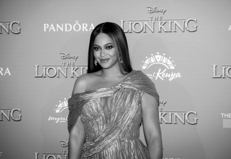 Beyonce at 'The Lion King' premiere