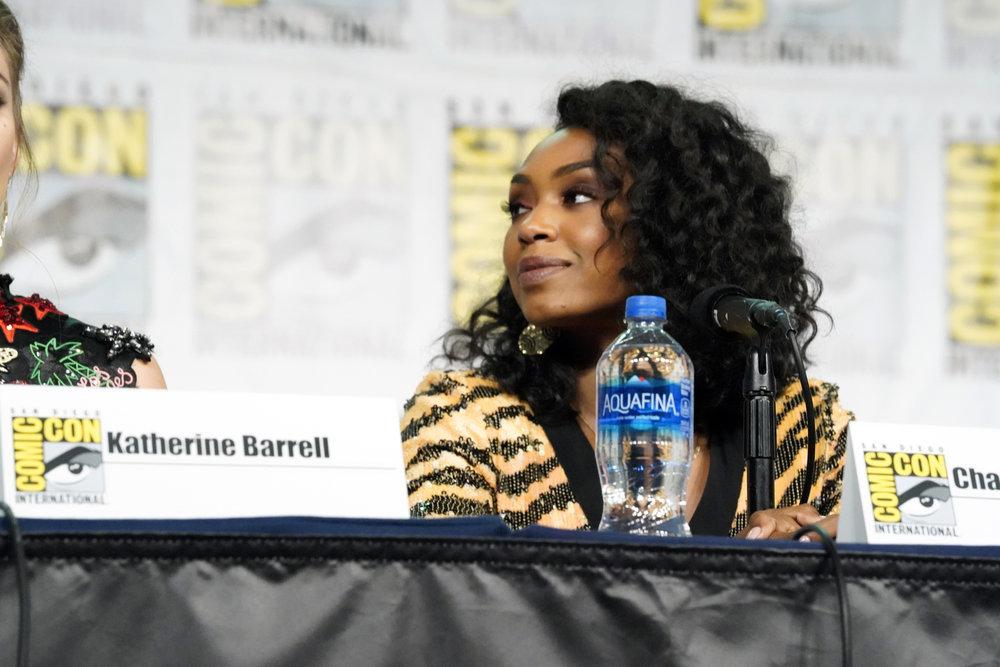 "Comic-Con International: San Diego -- ""Wynonna Earp Panel"" -- Chantel Riley"