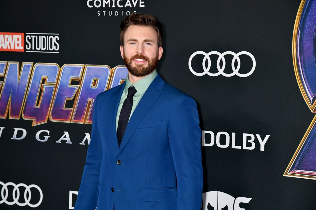 Chris Evans attends the World Premiere of Walt Disney Studios Motion Pictures Avengers: Endgame on April 22, 2019, in Los Angeles, California.