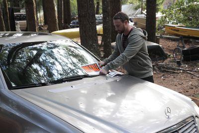 Corey sells his car to move to Ecuador