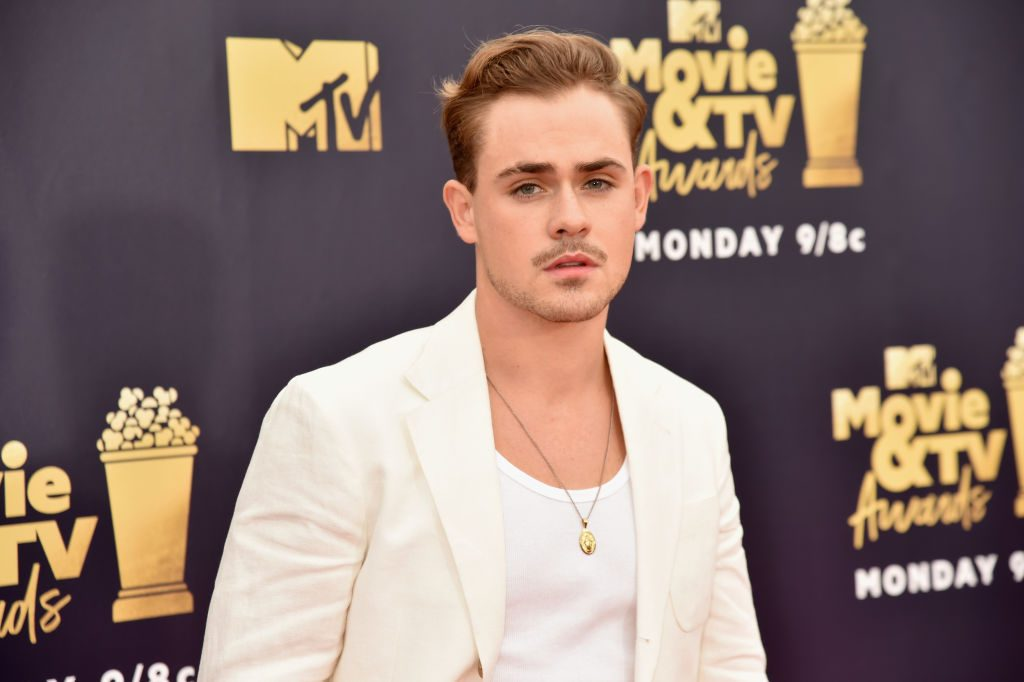 Dacre Montgomery at 2018 MTV Movie And TV Awards - Red Carpet