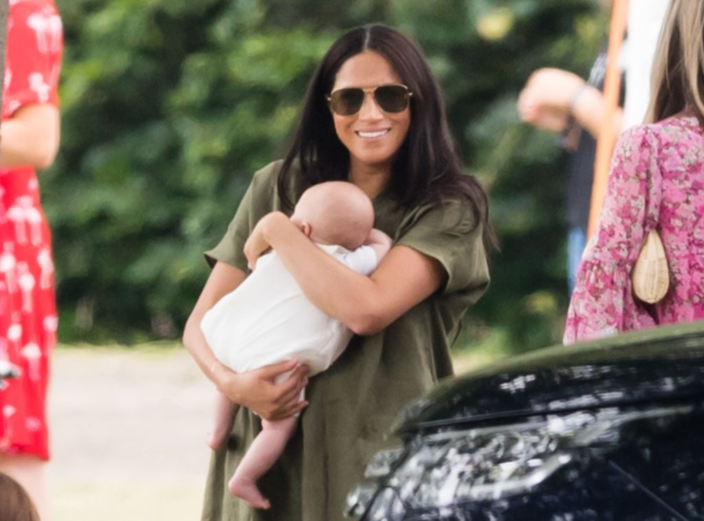 Did Meghan Markle hold baby Archie wrong at King Power Royal Charity Polo Day?